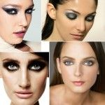 Smokey eyes have been a big style for quite awhile and there's no sign this particular trend is dying