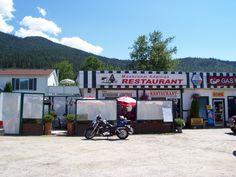 Mushroom Addition Restaurant - Fauquier, BC. Hwy 6