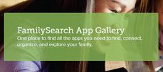 Family Search Applications — FamilySearch.org