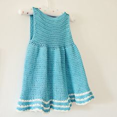 Crochet PATTERN  A-line Dress can be made in any von monpetitviolon
