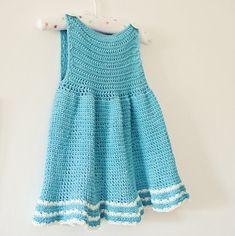Crochet patrones vestido se puede hacer en por monpetitviolon