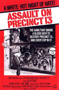 Assault on Precinct 13: Extra Large Movie Poster Image - Internet Movie Poster Awards Gallery
