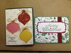 This Week's Make and Take  Christmas in July Make and Take at Bayer's Pampered Stampers  Toledo