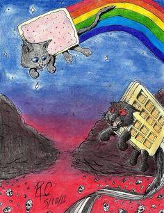 Nyan cat and tac nayn