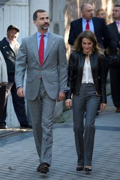 Princess Letizia - Principes de Asturias Awards 2013 - Spanish Royals Visit Teverga