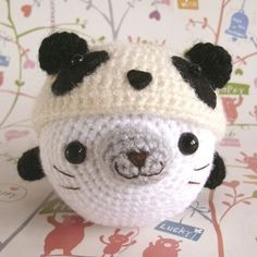 A Baby Seal wearing a Panda Hat! || My cuteness meter just exploded lol