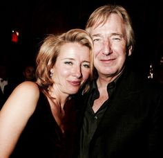 Alan and Emma, 'Love Actually' premiere, Nov 6, 2003. NYC