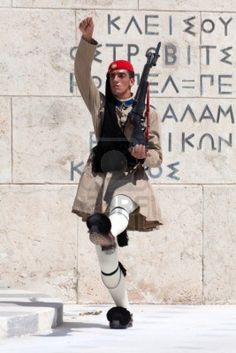 Changing of the guards, Athens Greece