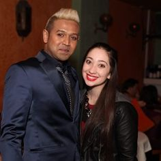 Mark De Alwis with Osta Pavina NYC