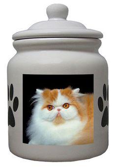 Best of Persian Cat pictures: Cat Cookie Jar, Ceramic Cookie Jar, Cookie Jars, Cat Playhouse, King Of Persia, Litter Box, Cat Food, Cat Breeds, Persian