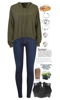 """""""Fireflies- On a Date With a Dragonfly"""" by booknerd7 ❤ liked on Polyvore featuring 7 For All Mankind, Maya Magal and WALL"""