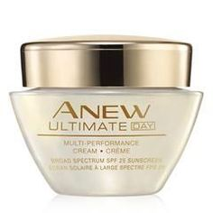 Anew Ultimate Multi-Performance Day Cream Broad Spectrum SPF 25  Avon ANEW Power Serum SHOP NOW I AVON AvonRep online at http://cbrenda007.avonrepresentative.com