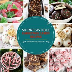These Christmas candy recipes are perfect for gift giving and holiday parties. From chocolate delights to festive red and green treats, there's a candy here for every sweet lover on your list!
