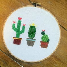Cactus Cross Stitch made to order by TheStitchest on Etsy                                                                                                                                                                                 More
