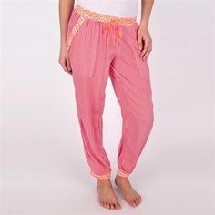 Kensie Printed Woven Pajama Pant #VonMaur #Kensie #Pink #Printed #Pajama #Sleepwear