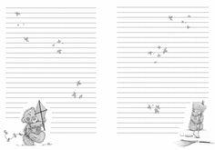 С миру по нитке: Мои Странички для блокнота с мишками тедди. Набор №2