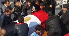 أخبار: جثامين شهداء الكنيسة البطرسية تصل ساحة النصب التذك...