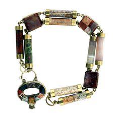 Scottish Agate Estate Bracelet
