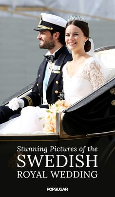 Congratulations are in order for Prince Carl Philip and Princess Sofia of Sweden! On Saturday, June 13, Philip, third in line to the throne, married former model Sofia Hellqvist at the Royal Chapel at the Royal Palace of Stockholm.  Keep reading to see their nuptials from all angles, and if you just can't get enough royal glamour, feast your eyes on Carl and Sofia's best wedding pictures.