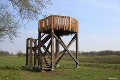 Uitkijktoren bij buurtschap Höfte