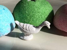GOOSE Animal Large Bath Candy - Fun white goose-  Birthday Idea - Geese Party Favors - Toy inside - Lush Exploding Bath Bomb Fun