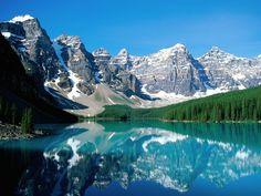 """""""Valley of ten peaks"""" - États-Unis"""