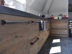 keuken oud hout