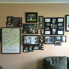 Wedding wall