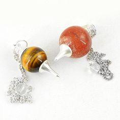 http://www.gemsmore.com/products/natural-golden-tiger-eye-red-jasper-healing-ball-point-pendulum-lot?utm_campaign=social_autopilot&utm_source=pin&utm_medium=pin