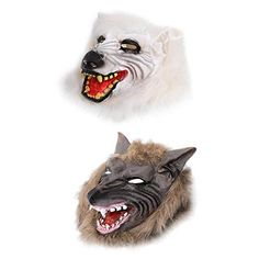 2020 AFfeco Scary Wolf Head Full Face Ghost Head Mask Halloween Masquerade Decoration and more Halloween Masks, Scary Halloween Masks for Scary Halloween Masks, Halloween Masquerade, Scary Costumes, Masquerade Decorations, Halloween Decorations, Scary Wolf, Horror Costume, Head Mask, Full Face