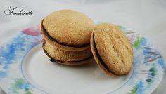 macarons fourrés au chocolat