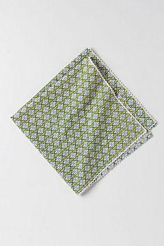 Tessellation Napkin   Anthropologie.eu