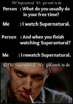 Supernatural. ..yeah