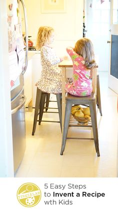 5 steps to invent a recipe with kids
