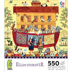 Ellen Stouffer: Noah's Ark - 550 Piece Jigsaw Puzzle
