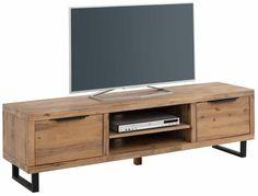 Vinnie TV-bord med to låger - Acacie - TV-bord i FSC certificeret træ Tv Furniture, Furniture Deals, Furniture Design, Tv Stand Decor, Diy Tv Stand, Tv Stand And Coffee Table Set, Tv Diy, Country Style Furniture, Swivel Tv Stand