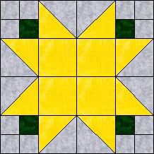 "Quilt-Pro Systems - Quilt-Pro -FREE Block of the Day Tulip Star- finished block 6""x6"" inches Subscribe today and receive a daily e-mail with your free Block of the Day! The Block of the Day is available to all quilters, regardless of whether you own our software programs. You can download the Block of the Day as a .pdf file"