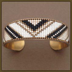Loom Bracelet Patterns, Bead Loom Bracelets, Bead Loom Patterns, Woven Bracelets, Beading Patterns, Jewelry Bracelets, Jewelery, Bead Jewellery, Stone Jewelry