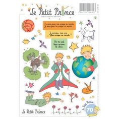Stickers ultra brillant le petit prince - Sticker petit prince ...