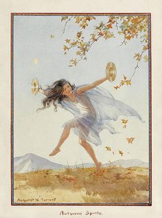 Autumn Sprite by Margaret Tarrant