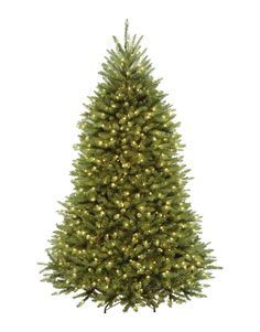 10' Pre-Lit Northern Dunhill Fir Full Artificial Christmas Tree - Clear Lights >>> For more information, visit now : Garden Christmas Decorations