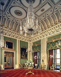 Green drawing room, Buckingham Palace