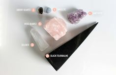 6 crystals for home protection | Rogue Wood Supply