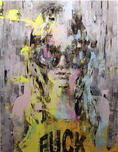 Marco GRASSI - Contemporary Artist - Girl Portrait