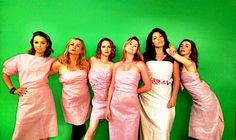 Caterina Scorsone / Jessica Capshaw / Camilla Luddington / Sara Ramirez / Sarah Drew / Ellen Pompeo