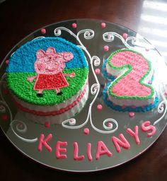 Peppa cake♡♡♡