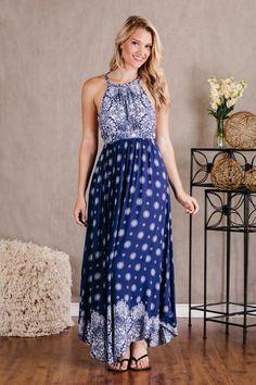 Riptide Maxi Dress
