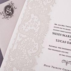 Convite de casamento - Inove