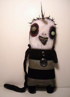 Monster Ainsley | Art Doll by Junker Jane