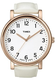 Want this watch in both white and black! Timex Originals Modern Easy Reader $60